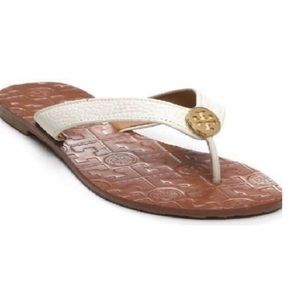 Tory Burch Thora Flat Thong Sandals size 8